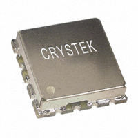 Crystek Corporation - CVCO55BE-1200-2300 - OSC VCO 1200-2300MHZ SMD .5X.5""