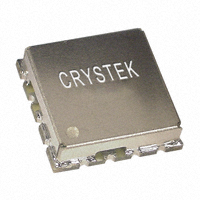 Crystek Corporation - CVCO55CW-0250-0450 - OSC VCO 250-450MHZ SMD .5X.5""