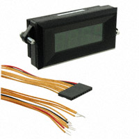 C-TON Industries - DK612 - VOLTMETER 2VDC LED PANEL MOUNT