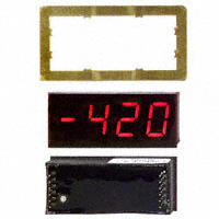 C-TON Industries - DK640 - VOLTMETER 200MVDC LED PANEL MT