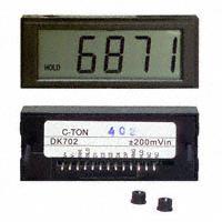 C-TON Industries - DK704 - VOLTMETER 200MVDC LCD PANEL MT