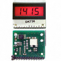 C-TON Industries - DK737 - VOLTMETER 2VDC LCD PANEL MOUNT