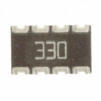 CTS Resistor Products - 744C083330JP - RES ARRAY 4 RES 33 OHM 2012