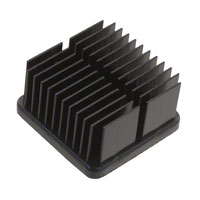 CTS Thermal Management Products - APF19-19-10CB/A01 - HEATSINK FORGED W/ADHESIVE TAPE