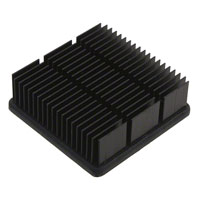 CTS Thermal Management Products - APF30-30-10CB/A01 - HEATSINK FORGED W/ADHESIVE TAPE