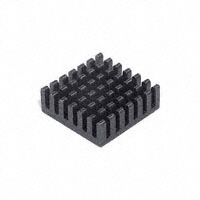 "CTS Thermal Management Products - BDN10-3CB/A01 - HEATSINK CPU W/ADHESIVE 1.01""SQ"