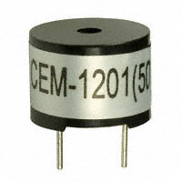 CUI Inc. - CEM-1201(50) - AUDIO MAGNETIC XDCR 1-2V TH