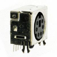 CUI Inc. - MD2-60ST - CONN MINI-DIN 6PIN R/A SLIM PCB