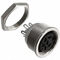 CUI Inc. - SD-60LS - CONN DIN RECPT LOCKING PNL MT 6P