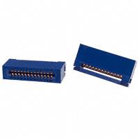 CW Industries - CWR-170-26-0000 - CONN EDGE DUAL FMALE 26POS 0.100