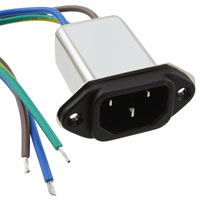 Delta Electronics - 03GEEW3E - PWR ENT RCPT IEC320-C14 PNL WIRE