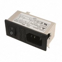 Delta Electronics - 06AN2D - PWR ENT MOD RCPT IEC320-C14 PNL