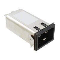 Delta Electronics - 20GENG3E-R - PWR ENT RCPT IEC320-C20 PANEL QC