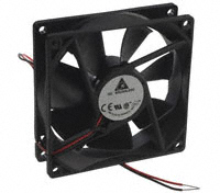 Delta Electronics - AFB0912VH - FAN AXIAL 92X25.4MM 12VDC WIRE