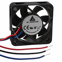 Delta Electronics - AFB0512HHB-F00 - FAN AXIAL 50X15MM 12VDC WIRE