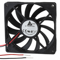 Delta Electronics - AFB0912LB - FAN AXIAL 92X15MM 12VDC WIRE