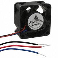 Delta Electronics - EFB0412HD-F00 - FAN AXIAL 40X20MM 12VDC WIRE