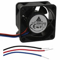 Delta Electronics - EFB0412VHD-R00 - FAN AXIAL 40X20MM 12VDC WIRE