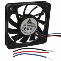 Delta Electronics - EFB0612HHA-F00 - FAN AXIAL 60X10MM 12VDC WIRE