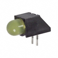 Dialight - 5505307F - LED 5MM RT ANG SUP DIFF YEL PCMT