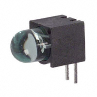Dialight - 5505605F - LED 5MM RT ANG SUP CLR GRN PCMNT