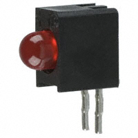Dialight - 5510409F - LED 3MM RT ANG HI EFF RED PC MNT