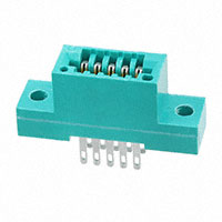 EDAC Inc. - 345-010-500-202 - CONN EDGE DUAL FMALE 10POS 0.100