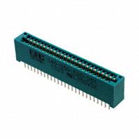 EDAC Inc. - 345-050-520-201 - CONN EDGE DUAL FMALE 50POS 0.100