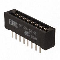 EDAC Inc. - 357-016-520-201 - CONN EDGE DUAL FMALE 16POS 0.156