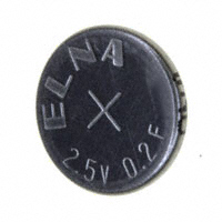 Elna America - DC-2R5D204T614 - CAP 200MF -20% +80% 2.5V HOLDER