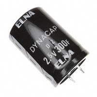 Elna America - DZH-2R5D307S57T - CAP 300F -20% +80% 2.5V T/H