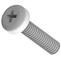 Essentra Components - NSP-4-3-01 - MACHINE SCREW PAN PHILLIPS 4-40