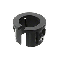 "Essentra Components - PGSB-0609A - BUSHING SPLIT 0.260"" NYLON BLACK"