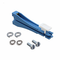 Essentra Components - VMCGN65-M3-L-K - CARD GUIDE VERTICAL MOUNT BLUE