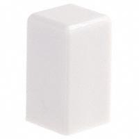 E-Switch - 1SWHT - CAP PUSHBUTTON SQUARE WHITE