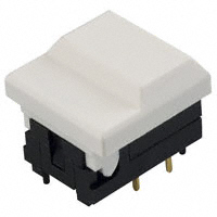 E-Switch - 5511MWHTX - SWITCH PUSH SPDT 0.03A 12V