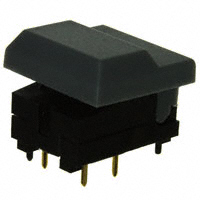 E-Switch - 5511MGRYX - SWITCH PUSH SPDT 0.03A 12V