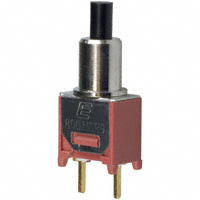 E-Switch - 800SP9B6M2RE - SWITCH PUSH SPST-NO 0.4VA 20V
