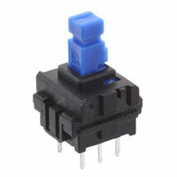 E-Switch - JN2UEENAGX - SWITCH PUSH DPDT 0.1A 30V