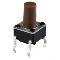 E-Switch - TL1105BF100Q - SWITCH TACTILE SPST-NO 0.05A 12V