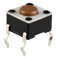 E-Switch - TL1105F100Q - SWITCH TACTILE SPST-NO 0.05A 12V
