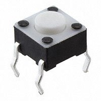 E-Switch - TL1105F160Q - SWITCH TACTILE SPST-NO 0.05A 12V