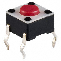 E-Switch - TL1105F250Q - SWITCH TACTILE SPST-NO 0.05A 12V