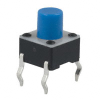 E-Switch - TL1105FF160Q - SWITCH TACTILE SPST-NO 0.05A 12V