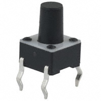 E-Switch - TL1105PF160Q - SWITCH TACTILE SPST-NO 0.05A 12V