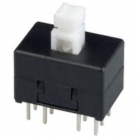 E-Switch - TL4201EEYA - SWITCH PUSH 4PDT 0.1A 30V