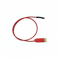 E-Z-Hook - 9163-24 RED - TEST LEAD BANANA TO SOCKET 24""