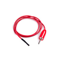 E-Z-Hook - 9167-24 RED - PATCHCORD SQ SCKT-PIN PLUG RED