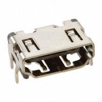 Amphenol FCI - 10029449-111RLF - CONN HDMI RECPT 19POS SMT R/A