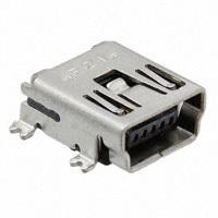 Amphenol FCI - 10033526-N3212LF - CONN MINI USB RCPT RA TYPE B SMD